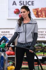 DANIELLE LLOYD at a Gas Station in Sutton Coldfield 02/25/2018