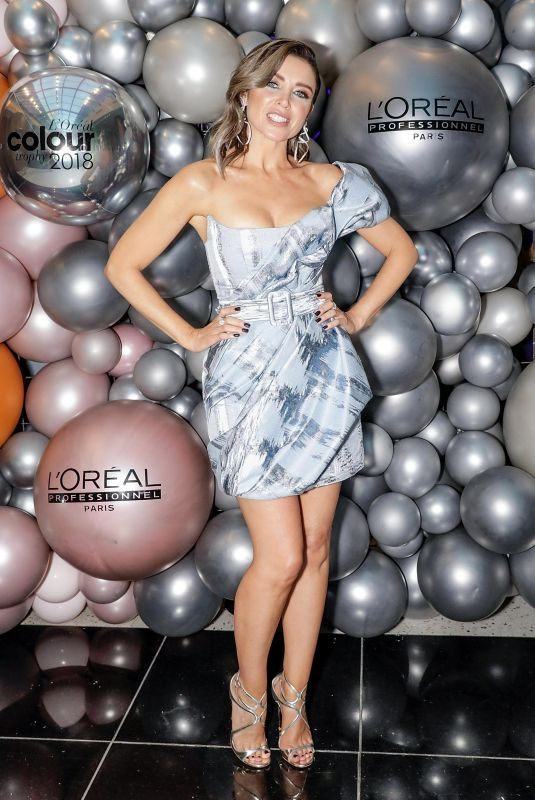 DANNII MINOGUE at L'Oreal Colour Trophy Swards in London 02/04/2018