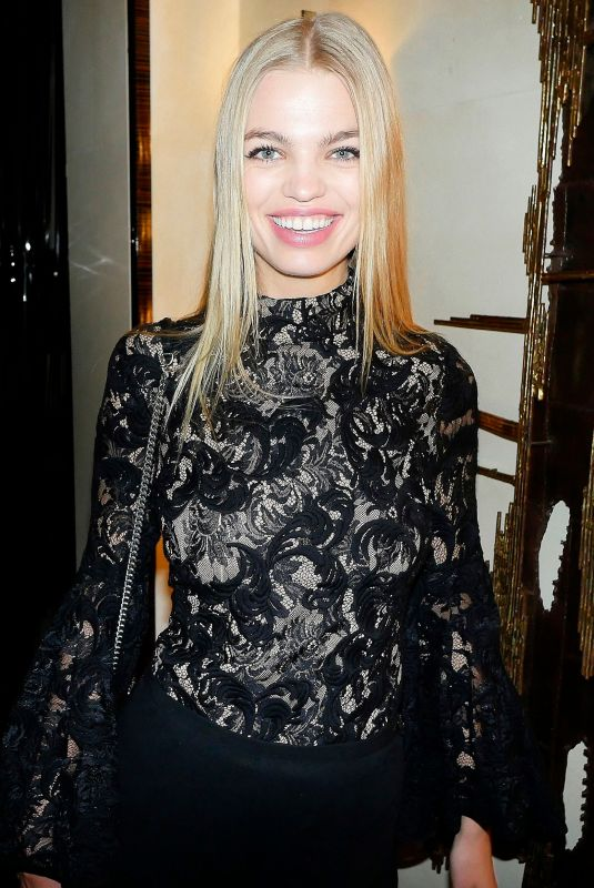 DAPHNE GROENEVELD at Bergdorf Goodman x Dundas Party at New York Fashion Week 02/09/2018