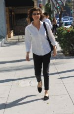 DAPHNE ZUNIGA Out for Lunch in Beverly Hills 01/31/2018