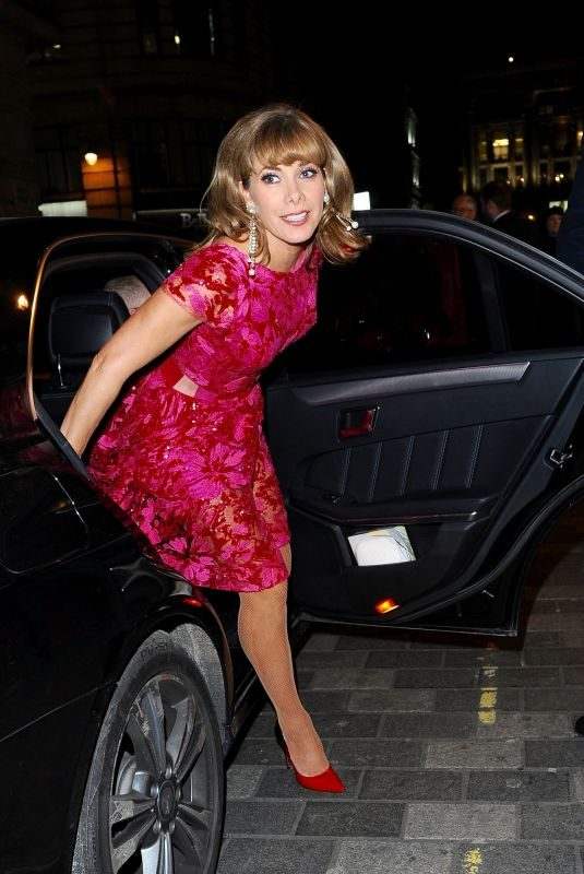 DARCEY BUSSELL at BBC's Bruce: A Celebration Event in London 02/21/2018