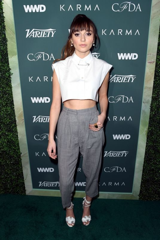 DAYA at CFDA, Variety and WWD Runway to Red Carpet Luncheon in Los Angeles 02/20/2018