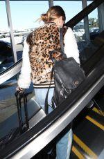 DEBBY RYAN at Los Angeles International Airport 02/16/2018