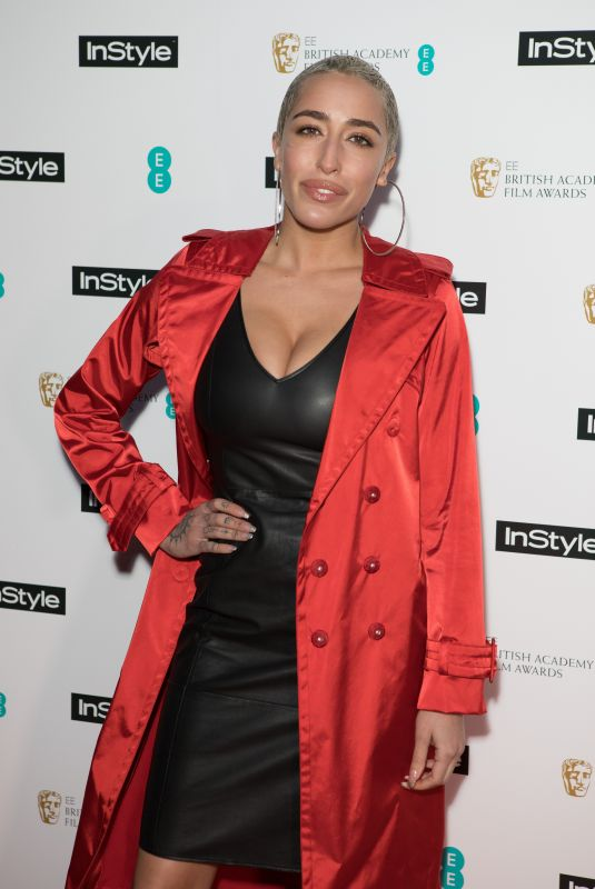 DELILAH at Instyle EE Rising Star Baftas Pre-party in London 02/06/2018