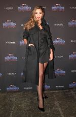 DEMI-LEIGH NEL-PETERS at Black Panther Welcome to Wakanda NYFW Showcase in New York 02/12/2018