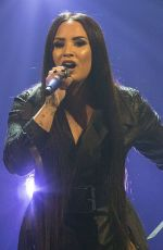 DEMI LOVATO Performs at Her Tell Me You Love Me Tour in San Diego 02/26/2018