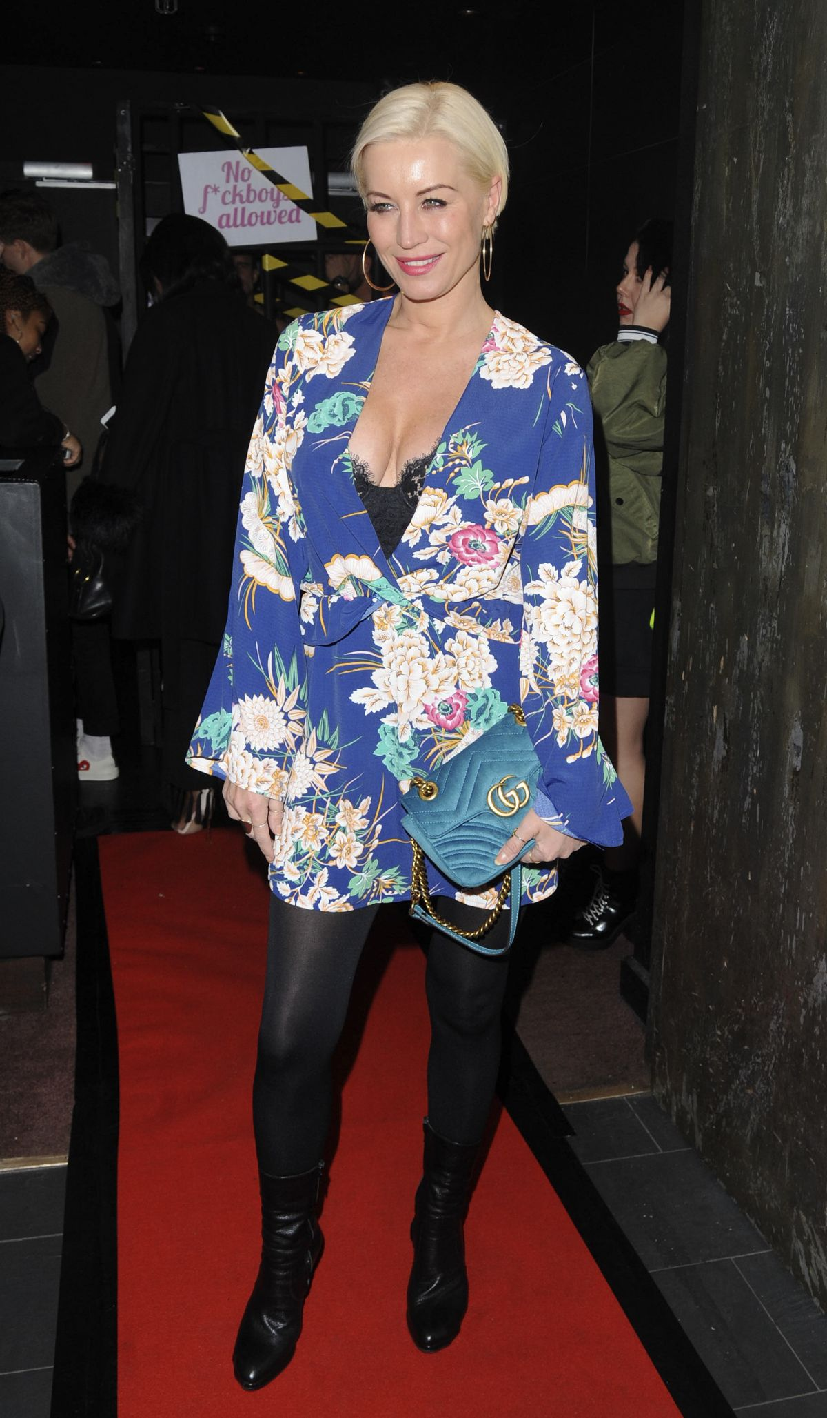 DENISE VAN OUTEN At Valentines Party At Libertine