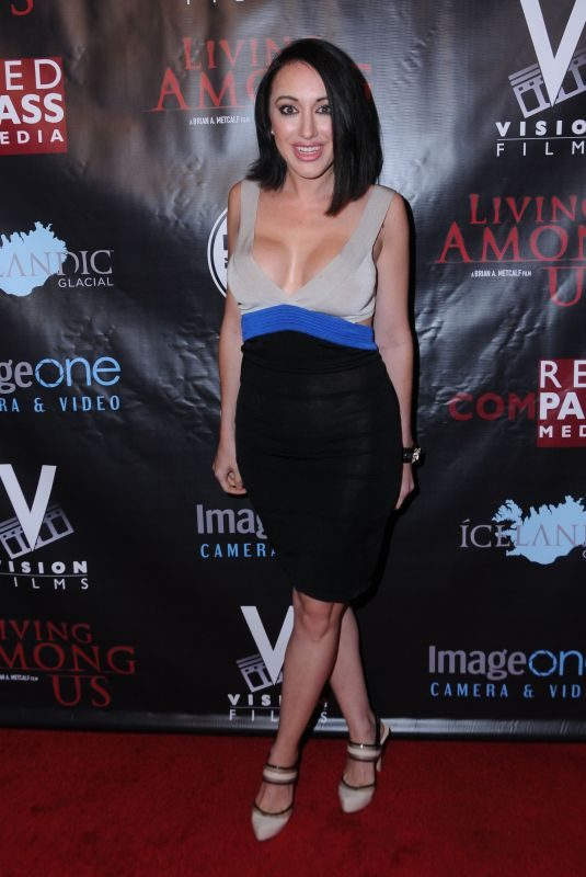 DEVANNY PINN at Living Among Us Premiere in Los Angeles 02/01/2018