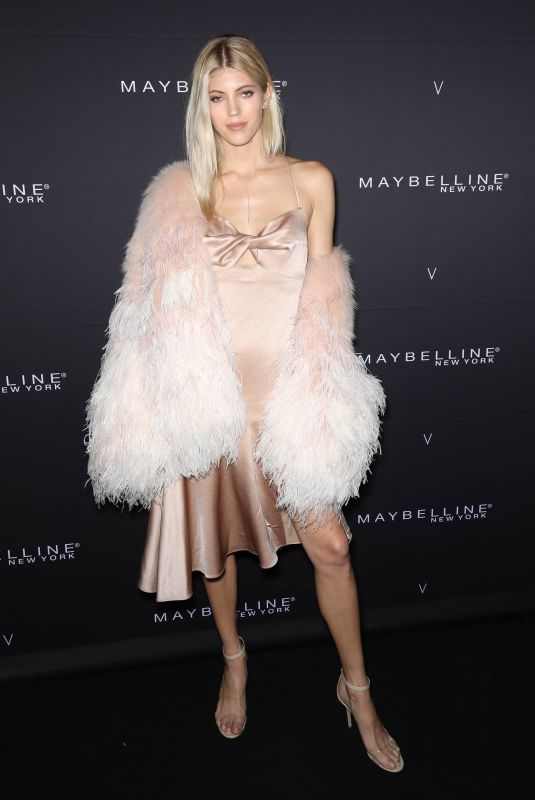 DEVON WINDSOR at Maybelline New York x V Magazine Fashion Week Party in New York 02/11/2018