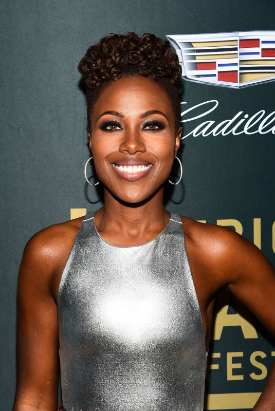 DEWANDA WISE at American Black Film Festival in Los Angeles 02/25/2018