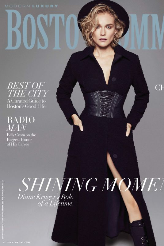 DIANE KRUGER in Boston Common Magazine,January 2018 Issue