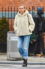 DIANE KRUGER Out and About in New York 02/15/2018