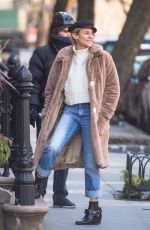 DIANE KRUGER Out in New York 02/13/2018