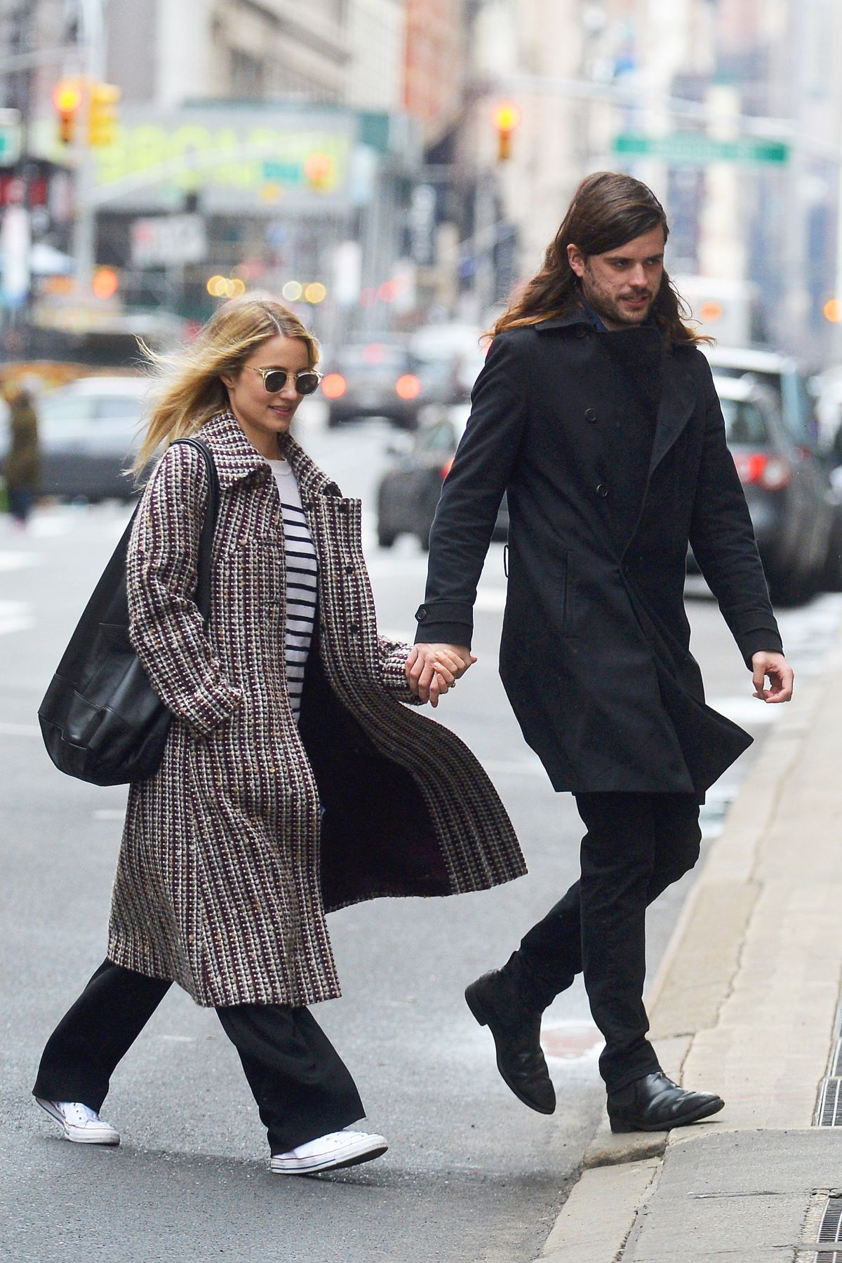 DIANNA AGRON and Winston Marshall Out in New York 02/25 ...