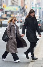 DIANNA AGRON and Winston Marshall Out in New York 02/25/2018