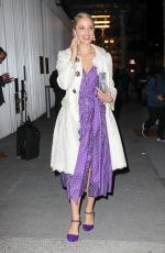DIANNA AGRON Arrives at Carolina Herrera Fashion Show in New York 02/12/2018