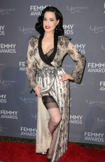 DITA VON TEESE at 2018 Femmy Awards in New York 02/06/2018