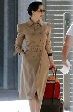 DITA VON TEESE at Airport in Perth 02/18/2018