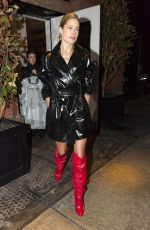 DOUTZEN KROES Night Out in New York 02/08/2018