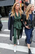 DOUTZEN KROES Out in New York 02/09/2018