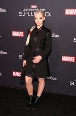 DOVE CAMERON at Agents of S.H.I.E.L.D. 100th Episode Celebration in Hollywood 02/24/2018