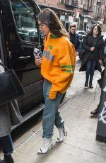 DUA LIPA Arrives at SNL Rehearsals in New York 02/03/2018