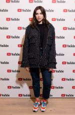 DUA LIPA at in Conversation with Lyor Cohen at Youtube Space in London 02/19/2018