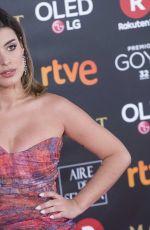 DULCEIDA at 32nd Goya Awards in Madrid 02/03/2018