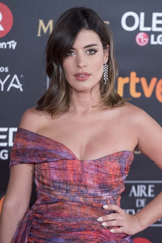 DULCEIDA at 32nd Goya Awards in Madrid 02/03/2018