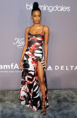EBONEE DAVIS at Amfar Gala 2018 in New York 02/07/2018