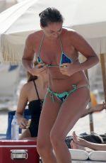 EDA TASPINAR in Bikini ata Beach in Miami 02/13/2018