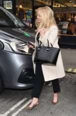 EMMA BUNTON Arrives at Capital FM Radio in London 02/21/2018