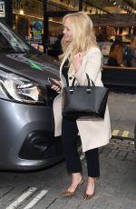 EMMA BUNTON Arrives at Capital FM Radio in London 02/21/2018