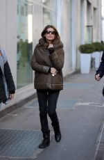 ELISABETTA CANALIS Out and About in Milan 02/21/2018