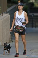 ELISABETTA CANALIS Out Hikking at Runyon Canyon in Los Angeles 02/05/2018