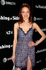 ELIZABETH CARLISLE at The Vanishing of Sidney Hall Premiere in Los Angeles 02/23/2018