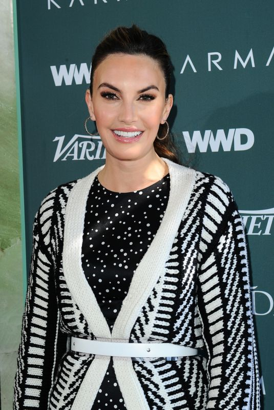 ELIZABETH CHAMBERS at CFDA, Variety and WWD Runway to Red Carpet Luncheon in Los Angeles 02/20/2018