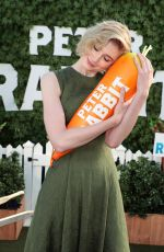 ELIZABETH DEBICKI at Peter Rabbit Photocall in West Hollywood 02/02/218