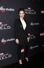 ELIZABETH HENSTRIDGE at Agents of S.H.I.E.L.D. 100th Episode Celebration in Hollywood 02/24/2018