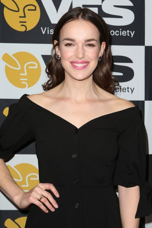 ELIZABETH HENSTRIDGE at VES Awards 2018 in Los Angeles 02/13/2018