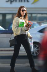 ELIZABETH OLSEN Leaves CVS in Los Angeles 02/26/2018