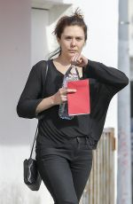 ELIZABETH OLSEN Out and About in Los Angeles 02/14/2018