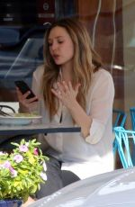 ELIZABETH OLSEN Out for Lunch in Studio City 02/02/2018