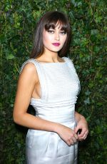 ELLA PURNELL at Bafta Nominees Party in London 02/17/2018