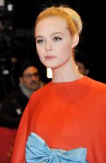 ELLE FANNING at Isle of Dogs Premiere at 68th Berlinale 02/15/2018