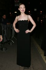 ELLE FANNING at Vogue x Tiffany & Co Bafta Afterparty in London 02/18/2018