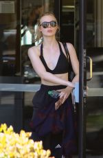 ELLE FANNING Leaves a Gym in Los Angeles 02/23/2018
