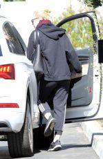 ELLE FANNING Leaves Her House in Los Angeles 02/23/2018