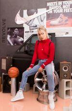 ELLEN V LORA at Revolve x Nike 1s Reimagined Pop-up Event in Los Angeles 02/16/2018