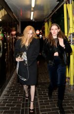 ELLIE BAMBER Arrives at Box Night Club in London 02/02/2018